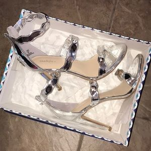 LIMELIGHT Brand new silver heels
